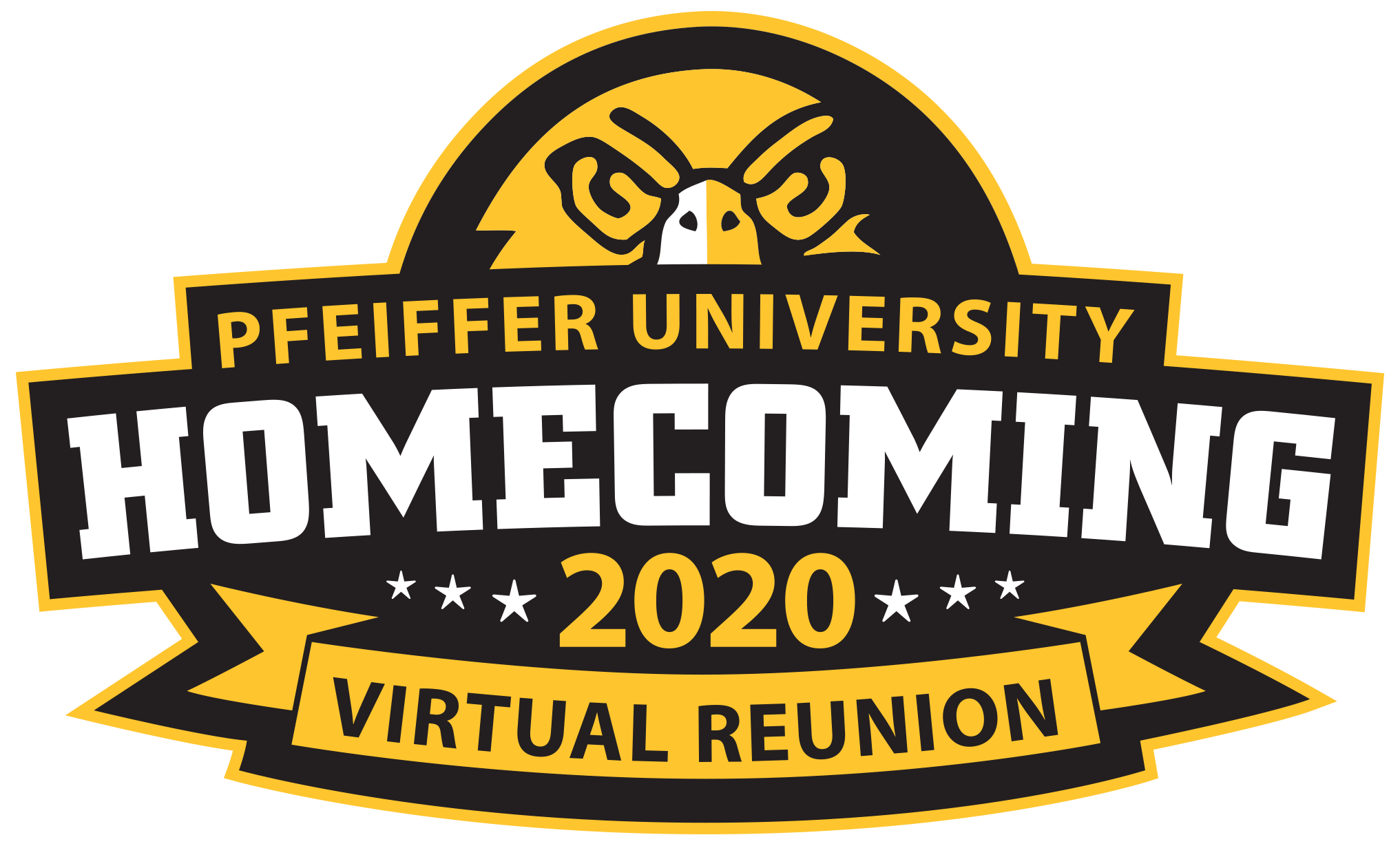 Homecoming 2020 virtual logo